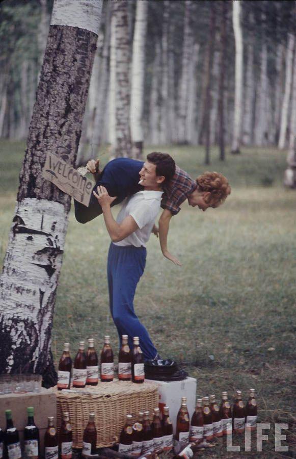 Советская молодежь 60-х глазами американского фотографа