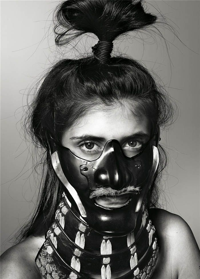 Richard Burbridge – Mask, photography for livraison magazine