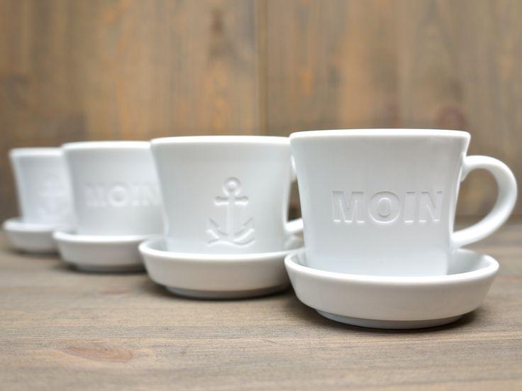 Leinen Los Für Die Gravierten Espressotassen Von FreuDinge! Leinen GeschirrGeschenkeKeramik