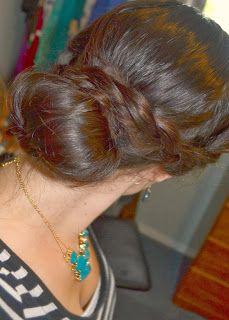 Love this Blog! Double Braid Sock Bun Tutorial #easy #hairstyle