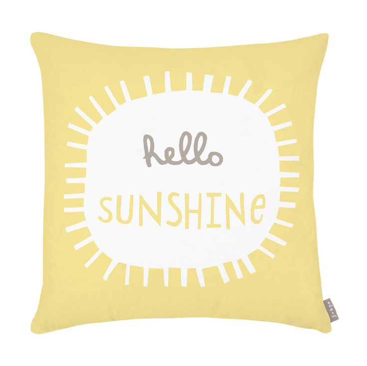 Cushion . Hello Sunshine