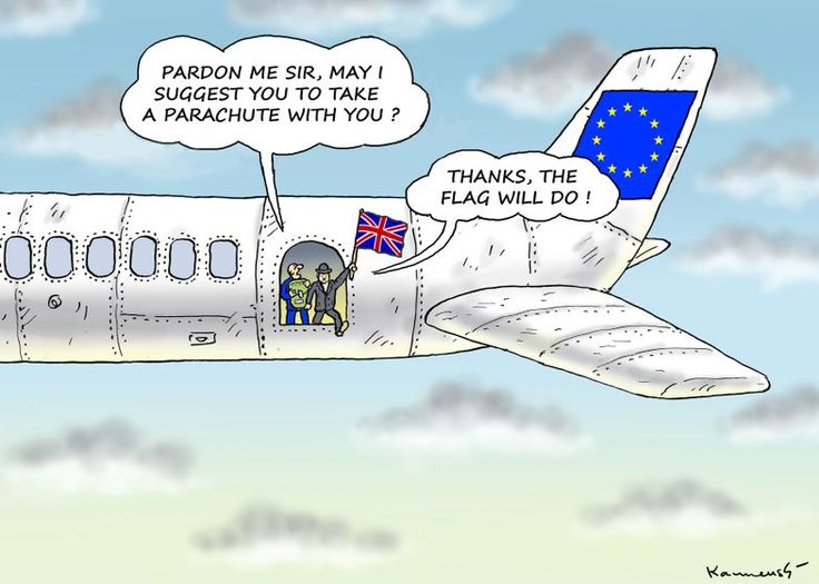Lots of #Brexit cartoons in our newsroom. Here's one by Marian Kamensky: http://www.cartoonmovement.com/cartoon/30884