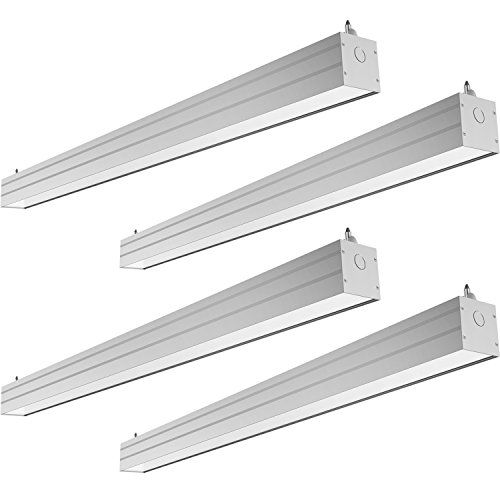 Hykolity 4ft 40w Linkable Led Architectural Ceiling Light Contemporary Design Light Fixtures Architecture