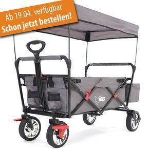"""""""NEU"""" FUXTEC faltbarer Bollerwagen in  GRAU 140€"""