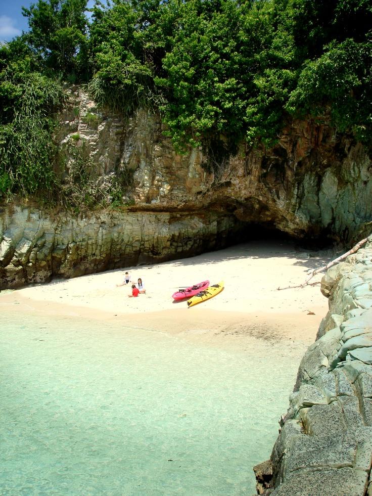 Amazing beach in Panama.
