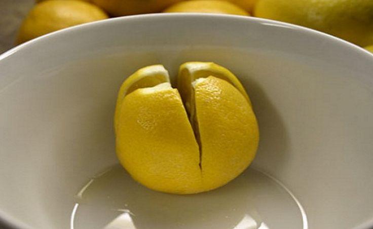 Ze snijdt een citroen in en legt deze naast haar bed. De reden? Dit moet iedereen proberen!