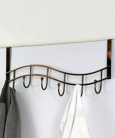 Look what I found on #zulily! Bronze Six-Hook Over-the-Door Hanger #zulilyfinds