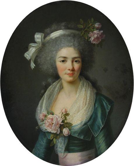 Vestye Антуан  (1740 - 1824) Портрет женщины