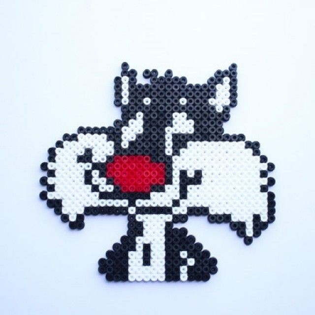 Sylvester hama perler beads by littlemissproductive