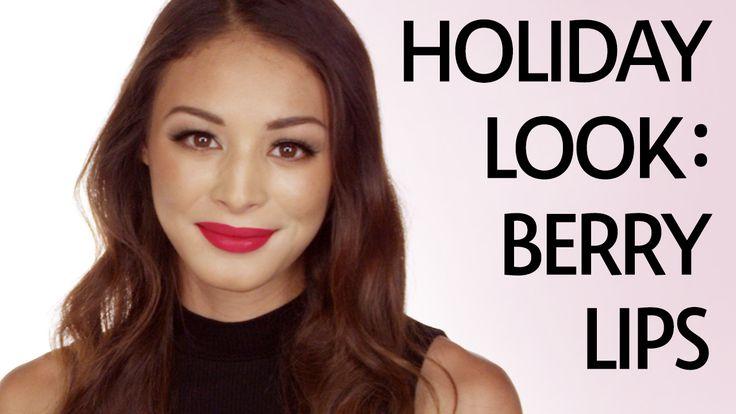 @Sephora TV presents Holiday Look Tutorial: Berry Lips #sephora
