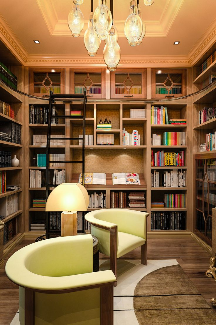 Home Library Office: 162 Best Images About Home Office Ideas On Pinterest