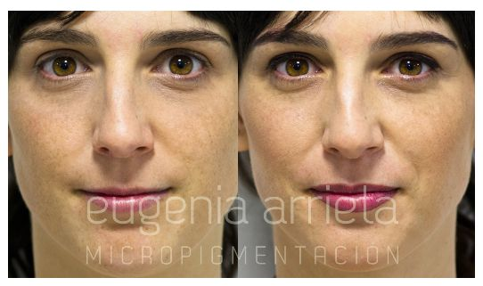 Micropigmentación de Labios realizada por Eugenia Arrieta.