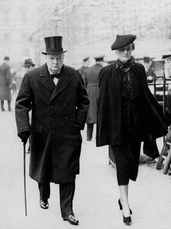 Winston et Clementine Churchill