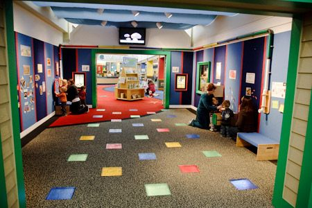 Who needs one little board when the walls can be covered in felt?! (West Bloomfield Public Library, MI)
