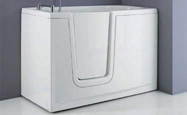 Vasca da bagno con sportello, vasca per anziani e vasche ...