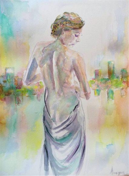 Venus 2-Watercolor