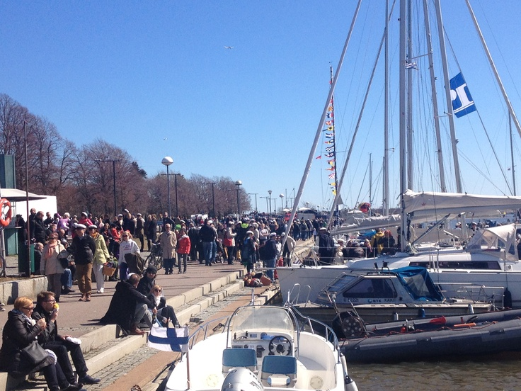 the First of May in Helsinki 2013