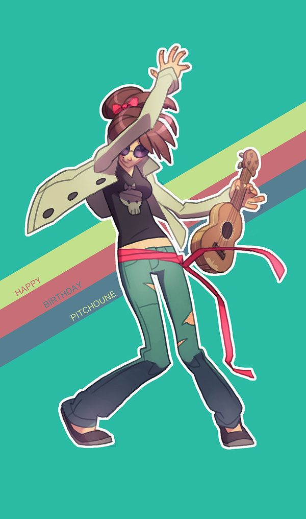 """""""Keep Rockin'"""" by Kuru ★    CHARACTER DESIGN REFERENCES   キャラクターデザイン  • Find more artworks at https://www.facebook.com/CharacterDesignReferences & http://www.pinterest.com/characterdesigh and learn how to draw: #concept #art #animation #anime #comics    ★"""