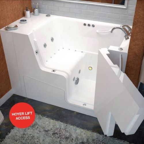 The 2953 Slide In Tub Is A Wheelchair Accessible Walk In Tub Designed For  Persons With