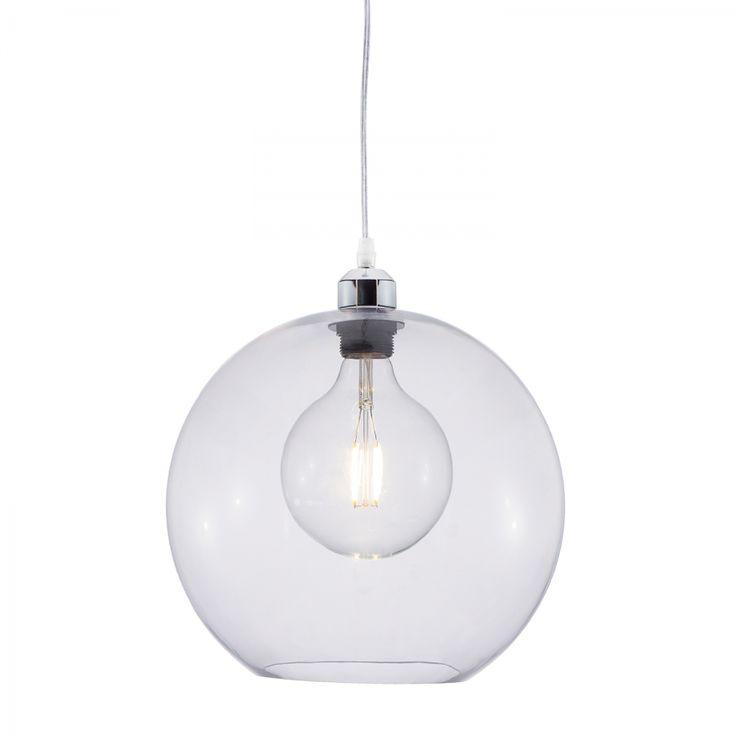 Suspension Bubble Sparkle II - Matière synthétique - 1 ampoule