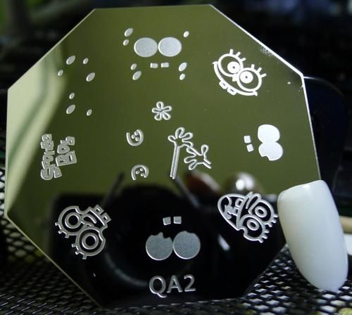 Nails - NAIL ART IMAGE STAMPING PLATE (QA-SERIES) for sale in Virginia (ID:217512993)