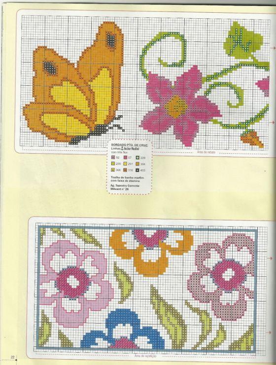 Butterfly & Flower Border #2/2  Gallery.ru / Фото #15 - 2012-08 - mornela