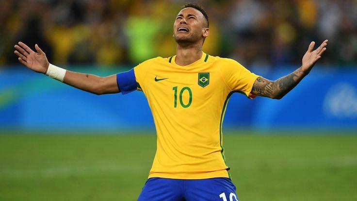 ブラジルに初の金メダルをもたらしたネイマール 「言葉がない」 #リオ五輪 #サッカー