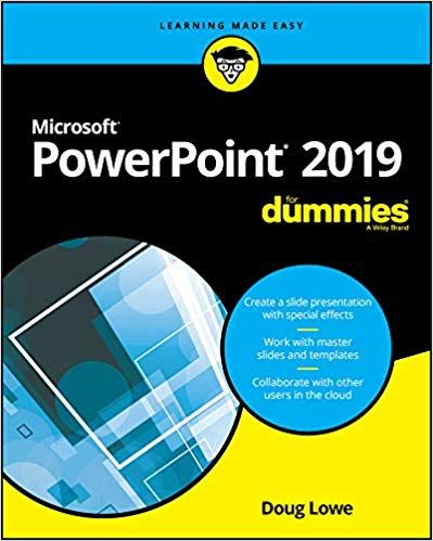 Powerpoint 2019 For Dummies Pdf Free Download It E Books In 2019