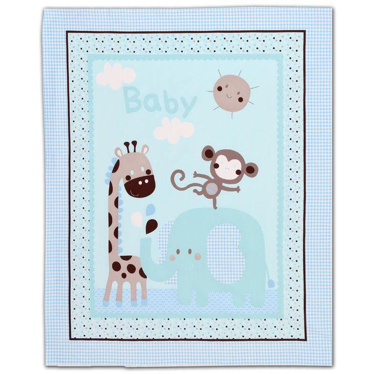 New baby nursery panel cotton fabric fabric patterns for Nursery cotton fabric