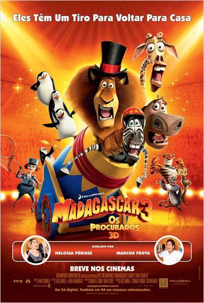 Madagascar 3 - Os Procurados : Poster