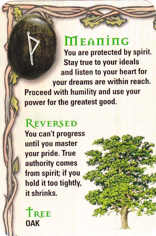 how to read rune stones