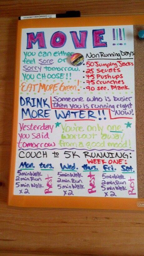 Motivation board