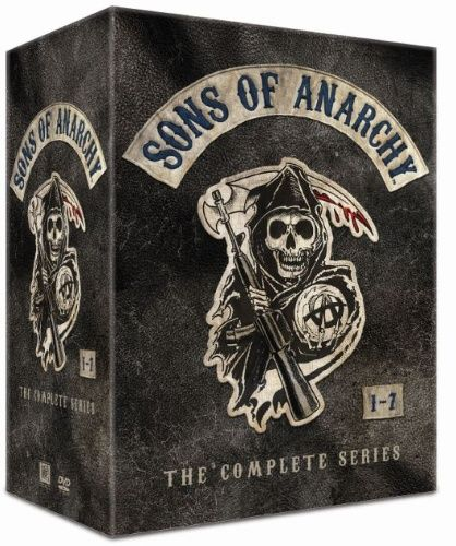 Sons of Anarchy: Complete Box - Kausi 1-7 (30 disc) (DVD)