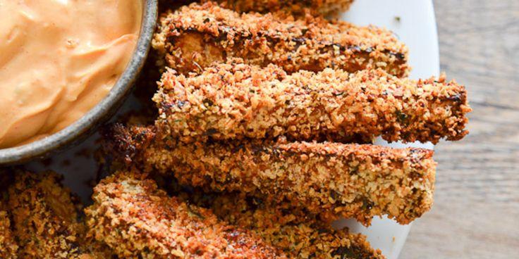 Вкусные жареные баклажаны
