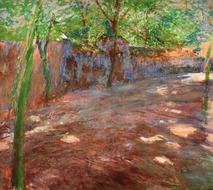 ANTONÍN SLAVÍČEK (1870-1910) Garden Wall