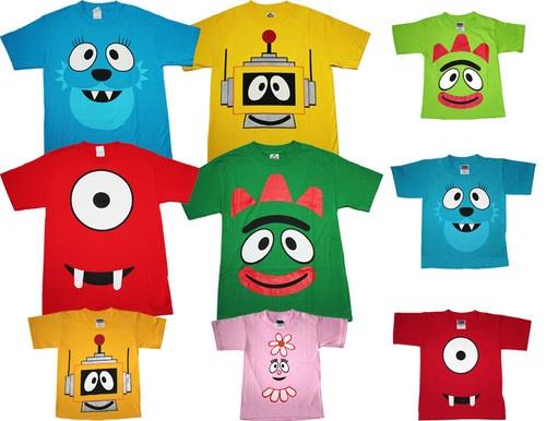 Yo Gabba Gabba Adult Shirts 88