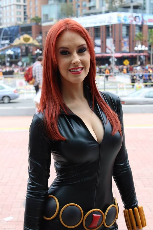 Black widow marvel cosplay - photo#12