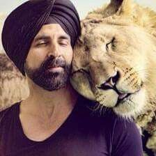 Akshay Kumar and Mufasa in Singh is bling