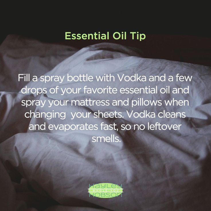 EO Tip to refresh mattress & pillows