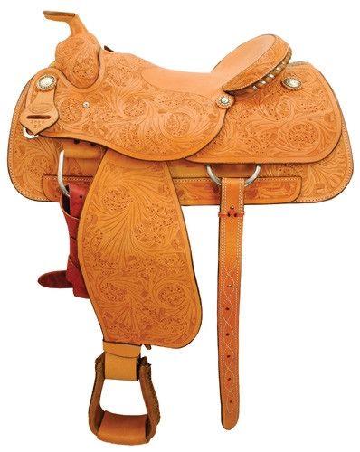 The Bulldogger Saddle