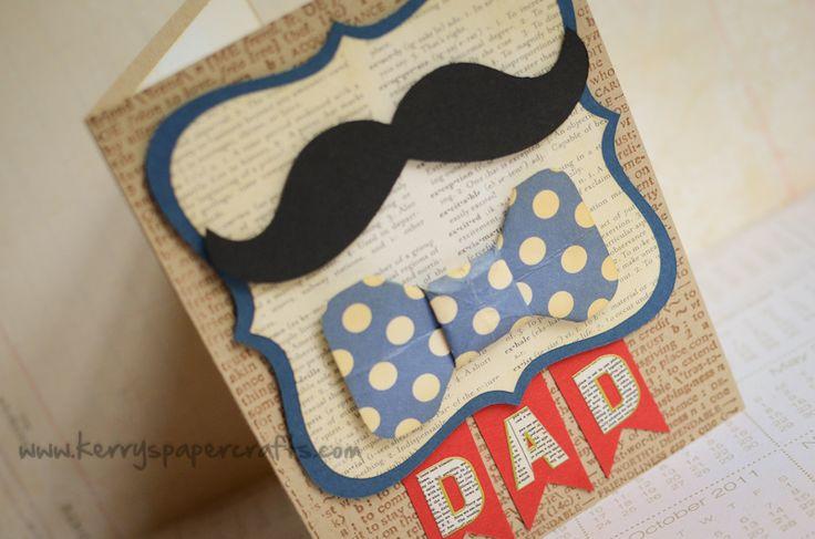 Tarjetas para el día del Padre #Creatividad #Tarjetería
