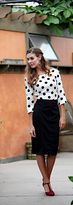 Textured Pencil Skirt [FSK11] - $44.99 : Mikarose Boutique, Reinventing Modesty