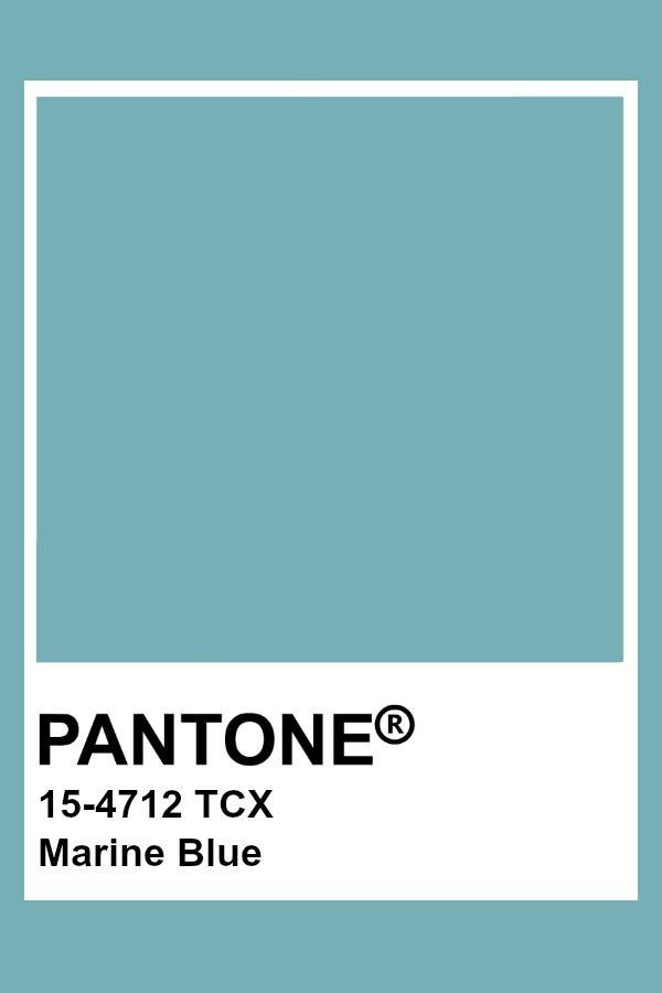 Pantone Marine Blue Vintage Colour Palette Colors Color Trends
