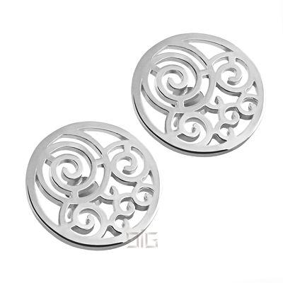 """Silver earrings """"Spiral"""""""