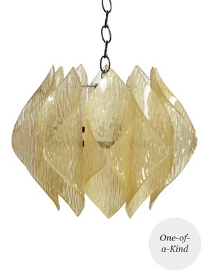 One of a Kind Mid-Century Pendant Lamp by Tiger Lily ....I want this in my home