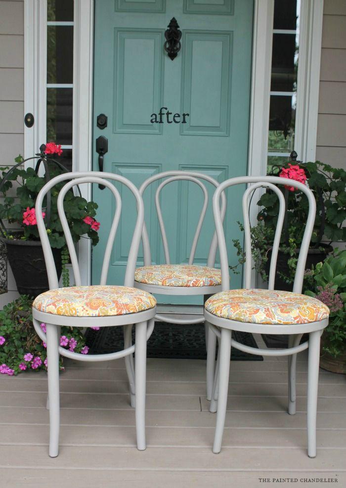 Botanical Prints Kitchen Chair Cushions X