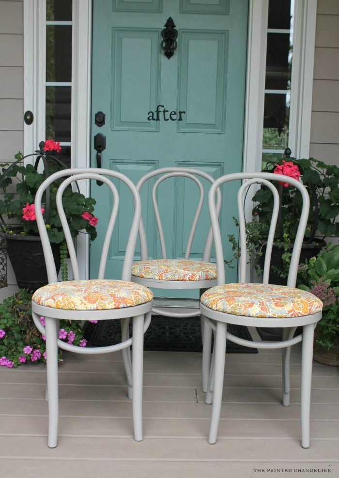 25 Best Ideas About Kitchen Chair Makeover On Pinterest Kitchen Chair Redo