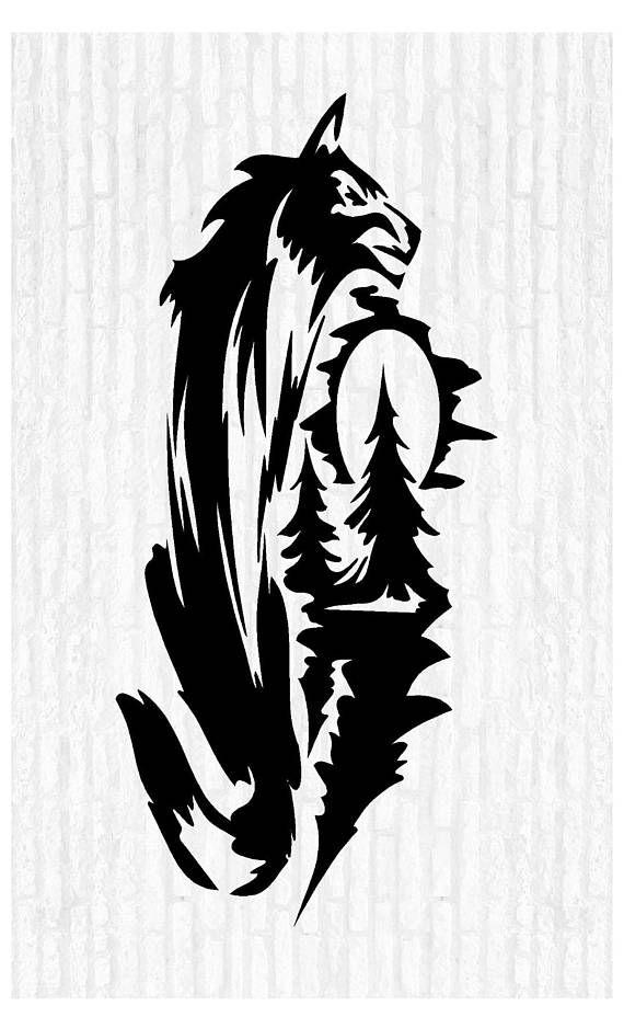 night wolf wolves vinyl wall art decal sticker animal rustic Chevy Malibu Decals night wolf wolves vinyl wall art decal sticker animal rustic