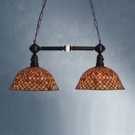 Meyda Tiffany Mahogany Bronze Pool Table Light  Great option for pool table lighting