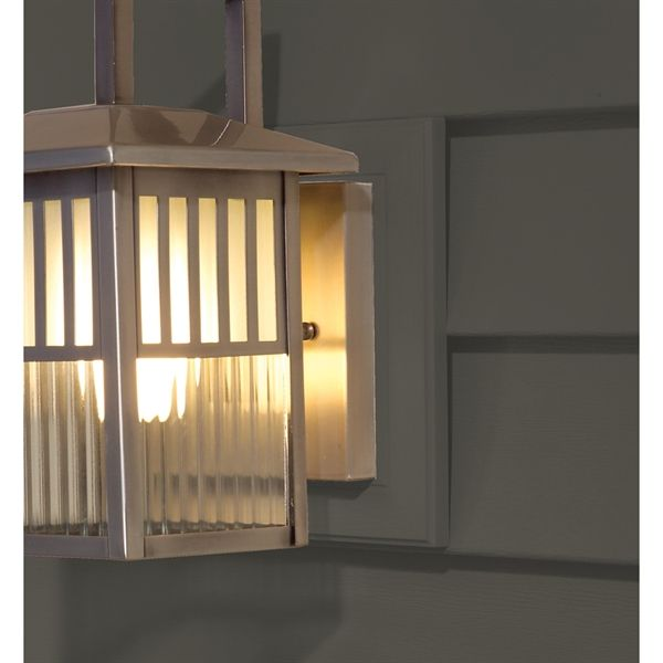 Great Info From This Old House On How To Install An Exterior Wall Sconce Without Inviting A Leak Garage Lights Exterior Vinyl Siding Outdoor Sconce Lighting